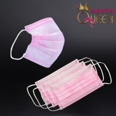 Einweg-Mundschutz-Gesichtsmaske pink 10 Stück